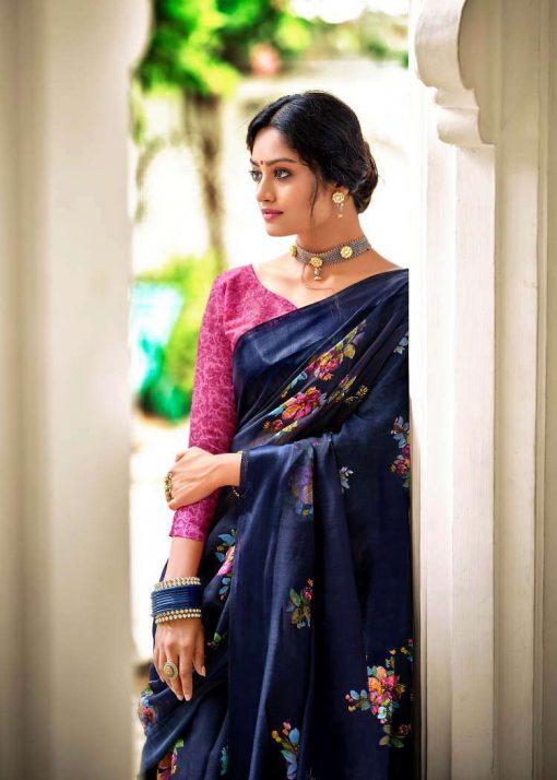 Kashvi Flora by Lt Fabrics Saree Sari Wholesale Catalog 10 Pcs 4 510x714 - Kashvi Flora by Lt Fabrics Saree Sari Wholesale Catalog 10 Pcs