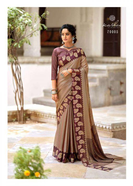Kashvi Kalakruti by Lt Fabrics Saree Sari Wholesale Catalog 10 Pcs 15 510x714 - Kashvi Kalakruti by Lt Fabrics Saree Sari Wholesale Catalog 10 Pcs