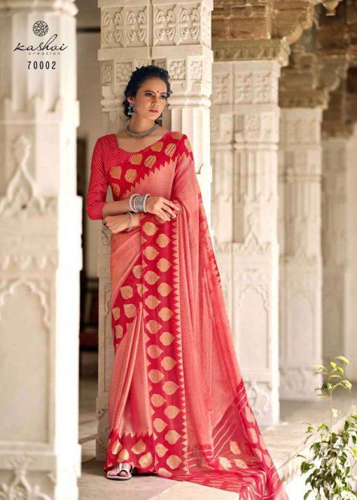Kashvi Kalakruti by Lt Fabrics Saree Sari Wholesale Catalog 10 Pcs 8 510x714 - Kashvi Kalakruti by Lt Fabrics Saree Sari Wholesale Catalog 10 Pcs