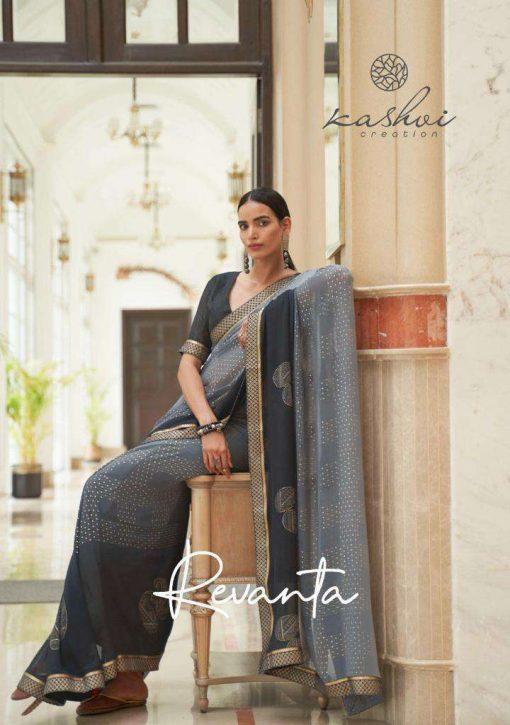Kashvi Revanta by Lt Fabrics Saree Sari Wholesale Catalog 10 Pcs 12 510x725 - Kashvi Revanta by Lt Fabrics Saree Sari Wholesale Catalog 10 Pcs