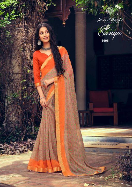 Kashvi Sanya by Lt Fabrics Saree Sari Wholesale Catalog 10 Pcs 9 510x720 - Kashvi Sanya by Lt Fabrics Saree Sari Wholesale Catalog 10 Pcs