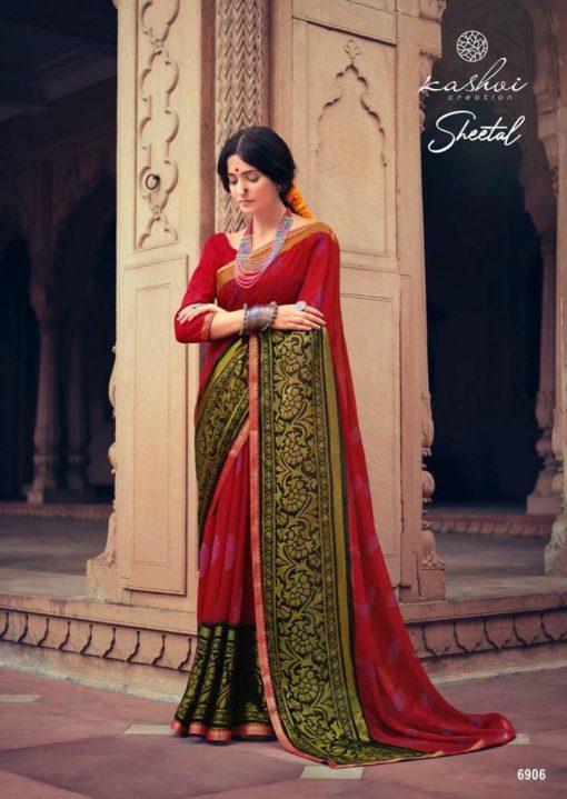 Kashvi Sheetal by Lt Fabrics Saree Sari Wholesale Catalog 10 Pcs 11 510x719 - Kashvi Sheetal by Lt Fabrics Saree Sari Wholesale Catalog 10 Pcs