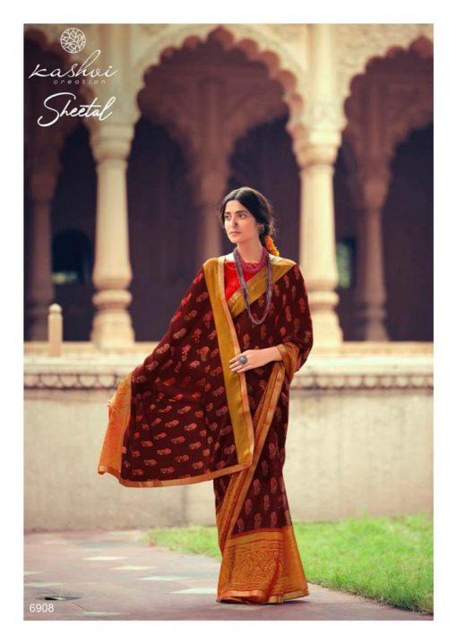 Kashvi Sheetal by Lt Fabrics Saree Sari Wholesale Catalog 10 Pcs 12 510x719 - Kashvi Sheetal by Lt Fabrics Saree Sari Wholesale Catalog 10 Pcs