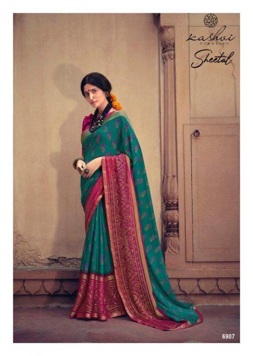 Kashvi Sheetal by Lt Fabrics Saree Sari Wholesale Catalog 10 Pcs 16 510x719 - Kashvi Sheetal by Lt Fabrics Saree Sari Wholesale Catalog 10 Pcs