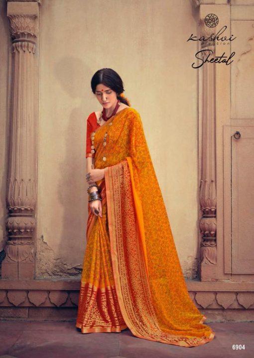 Kashvi Sheetal by Lt Fabrics Saree Sari Wholesale Catalog 10 Pcs 2 510x719 - Kashvi Sheetal by Lt Fabrics Saree Sari Wholesale Catalog 10 Pcs