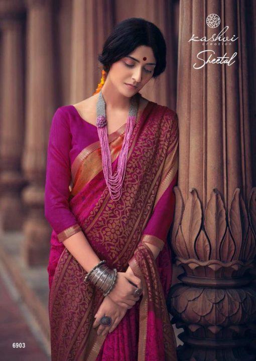 Kashvi Sheetal by Lt Fabrics Saree Sari Wholesale Catalog 10 Pcs 20 510x719 - Kashvi Sheetal by Lt Fabrics Saree Sari Wholesale Catalog 10 Pcs