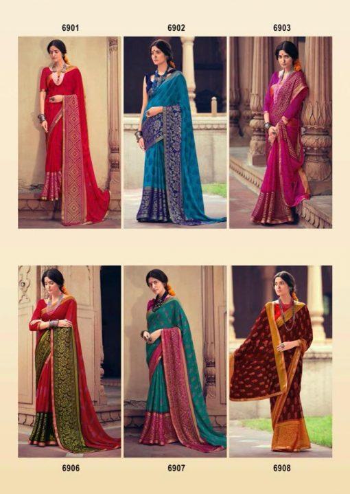 Kashvi Sheetal by Lt Fabrics Saree Sari Wholesale Catalog 10 Pcs 22 510x719 - Kashvi Sheetal by Lt Fabrics Saree Sari Wholesale Catalog 10 Pcs