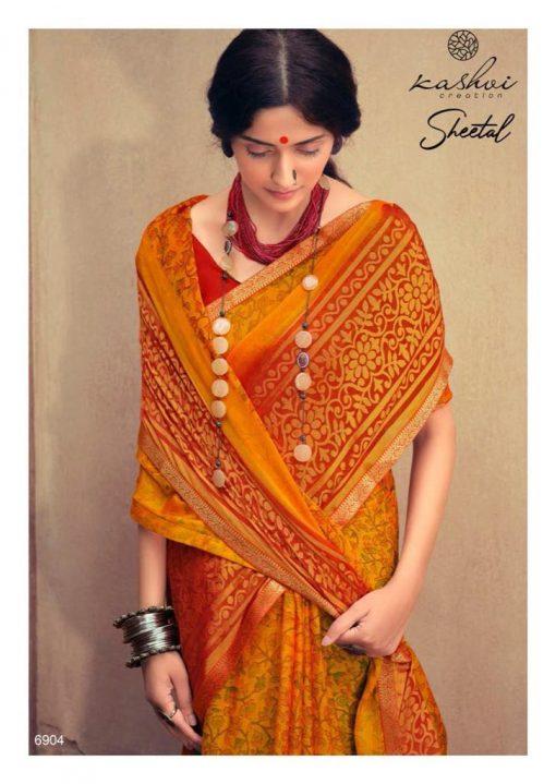 Kashvi Sheetal by Lt Fabrics Saree Sari Wholesale Catalog 10 Pcs 4 510x719 - Kashvi Sheetal by Lt Fabrics Saree Sari Wholesale Catalog 10 Pcs
