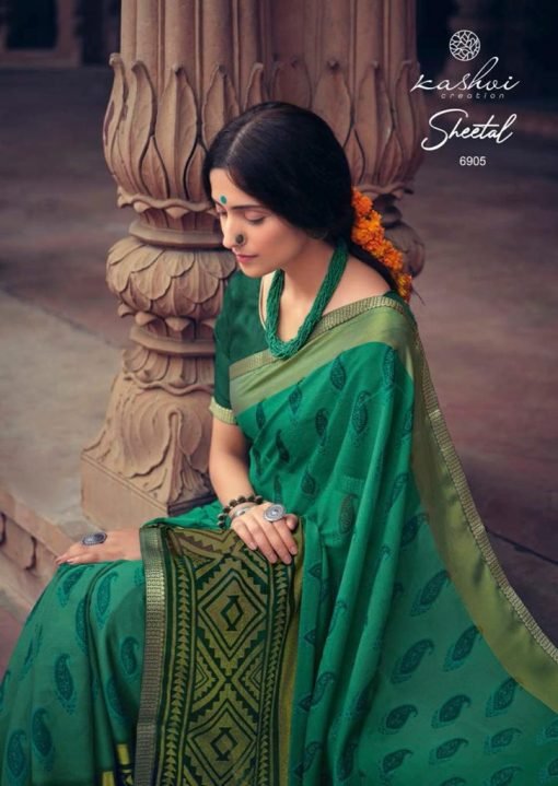 Kashvi Sheetal by Lt Fabrics Saree Sari Wholesale Catalog 10 Pcs 9 510x719 - Kashvi Sheetal by Lt Fabrics Saree Sari Wholesale Catalog 10 Pcs
