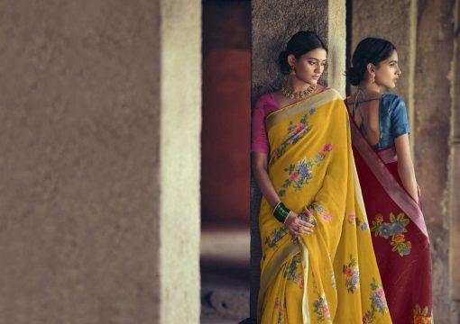Lt Fabrics Dharma Saree Sari Wholesale Catalog 10 Pcs 2 510x360 - Lt Fabrics Dharma Saree Sari Wholesale Catalog 10 Pcs
