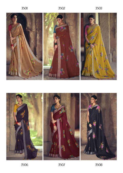 Lt Fabrics Dharma Saree Sari Wholesale Catalog 10 Pcs 24 510x719 - Lt Fabrics Dharma Saree Sari Wholesale Catalog 10 Pcs
