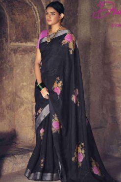 Lt Fabrics Dharma Saree Sari Wholesale Catalog 10 Pcs