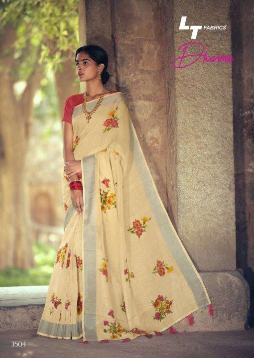 Lt Fabrics Dharma Saree Sari Wholesale Catalog 10 Pcs 9 510x719 - Lt Fabrics Dharma Saree Sari Wholesale Catalog 10 Pcs