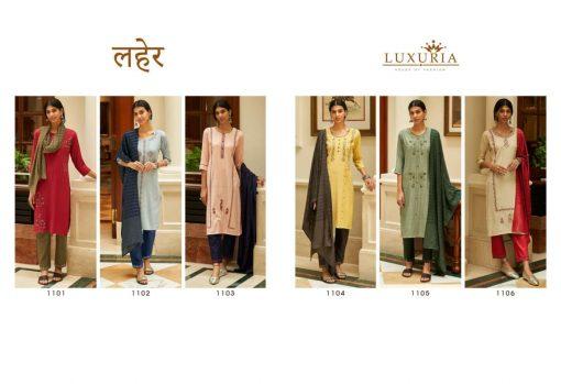 Luxuria Laher Kurti with Dupatta Bottom Wholesale Catalog 6 Pcs 12 510x349 - Luxuria Laher Kurti with Dupatta Bottom Wholesale Catalog 6 Pcs