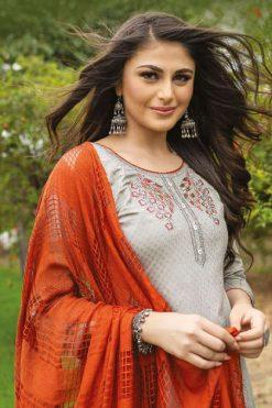 Mayree India Sharmilee Kurti with Dupatta Bottom Wholesale Catalog 8 Pcs