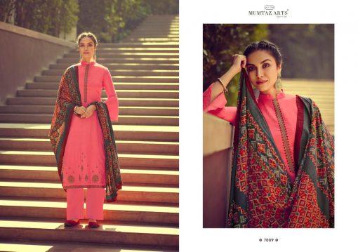 Mumtaz Arts Ikkat Patola Salwar Suit Wholesale Catalog 8 Pcs 11 510x359 - Mumtaz Arts Ikkat Patola Salwar Suit Wholesale Catalog 8 Pcs
