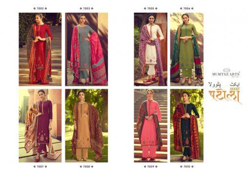 Mumtaz Arts Ikkat Patola Salwar Suit Wholesale Catalog 8 Pcs 12 510x359 - Mumtaz Arts Ikkat Patola Salwar Suit Wholesale Catalog 8 Pcs