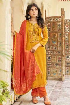 Panch Ratna Ritika by Kessi Salwar Suit Wholesale Catalog 5 Pcs