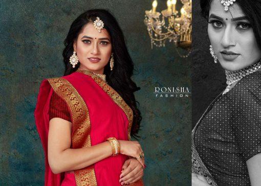 Ranjna Click Saree Sari Wholesale Catalog 8 Pcs 5 510x364 - Ranjna Click Saree Sari Wholesale Catalog 8 Pcs