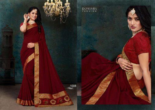 Ranjna Click Saree Sari Wholesale Catalog 8 Pcs 7 510x364 - Ranjna Click Saree Sari Wholesale Catalog 8 Pcs