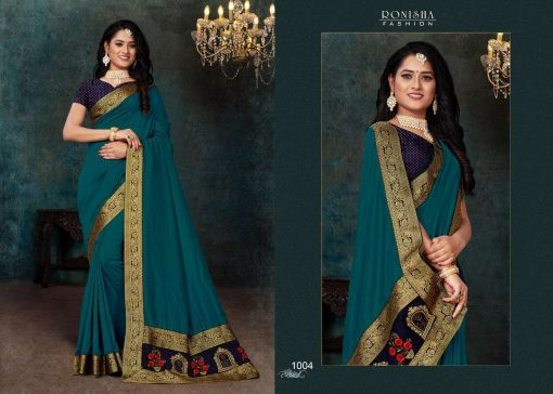 Ranjna Click Saree Sari Wholesale Catalog 8 Pcs 8 510x364 - Ranjna Click Saree Sari Wholesale Catalog 8 Pcs
