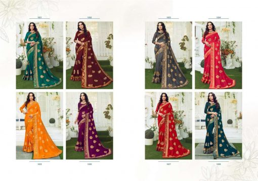 Ranjna Retro Saree Sari Wholesale Catalog 8 Pcs 10 510x357 - Ranjna Retro Saree Sari Wholesale Catalog 8 Pcs