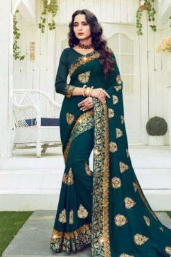 Ranjna Retro Saree Sari Wholesale Catalog 8 Pcs