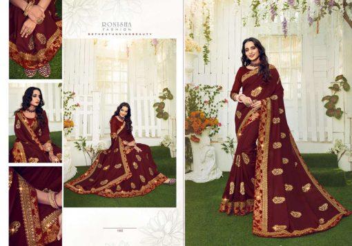 Ranjna Retro Saree Sari Wholesale Catalog 8 Pcs 4 510x357 - Ranjna Retro Saree Sari Wholesale Catalog 8 Pcs