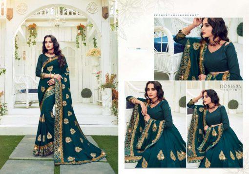 Ranjna Retro Saree Sari Wholesale Catalog 8 Pcs 5 510x357 - Ranjna Retro Saree Sari Wholesale Catalog 8 Pcs