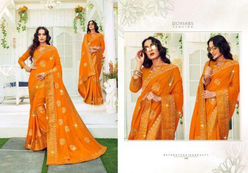 Ranjna Retro Saree Sari Wholesale Catalog 8 Pcs 6 510x357 - Ranjna Retro Saree Sari Wholesale Catalog 8 Pcs