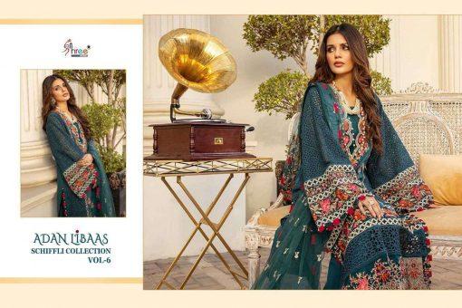 Shree Fabs Adan Libaas Schiffli Collection Vol 6 Salwar Suit Wholesale Catalog 5 Pcs 10 510x340 - Shree Fabs Adan Libaas Schiffli Collection Vol 6 Salwar Suit Wholesale Catalog 5 Pcs