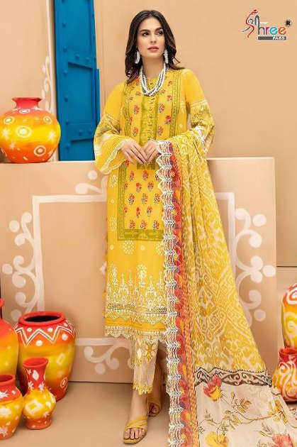 Shree Fabs Charizma Signature Chunri Collection NX Salwar Suit Wholesale Catalog 6 Pcs