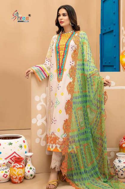 Shree Fabs Charizma Signature Chunri Collection Salwar Suit Wholesale Catalog 8 Pcs