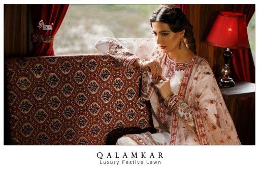 Shree Fabs Qalamkar Luxury Festival Lawn Salwar Suit Wholesale Catalog 4 Pcs 2 1 510x340 - Shree Fabs Qalamkar Luxury Festival Lawn Salwar Suit Wholesale Catalog 4 Pcs