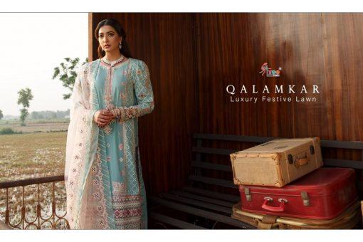 Shree Fabs Qalamkar Luxury Festival Lawn Salwar Suit Wholesale Catalog 4 Pcs 3 1 510x340 - Shree Fabs Qalamkar Luxury Festival Lawn Salwar Suit Wholesale Catalog 4 Pcs