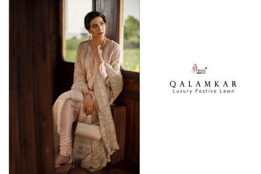 Shree Fabs Qalamkar Luxury Festival Lawn Salwar Suit Wholesale Catalog 4 Pcs 6 1 510x340 - Shree Fabs Qalamkar Luxury Festival Lawn Salwar Suit Wholesale Catalog 4 Pcs