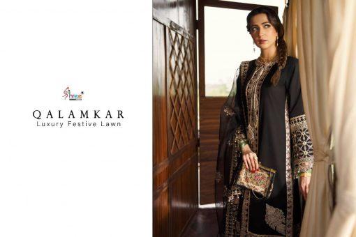 Shree Fabs Qalamkar Luxury Festival Lawn Salwar Suit Wholesale Catalog 4 Pcs 8 1 510x340 - Shree Fabs Qalamkar Luxury Festival Lawn Salwar Suit Wholesale Catalog 4 Pcs
