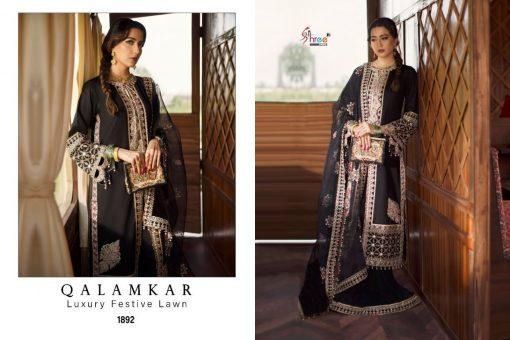 Shree Fabs Qalamkar Luxury Festival Lawn Salwar Suit Wholesale Catalog 4 Pcs 9 1 510x340 - Shree Fabs Qalamkar Luxury Festival Lawn Salwar Suit Wholesale Catalog 4 Pcs