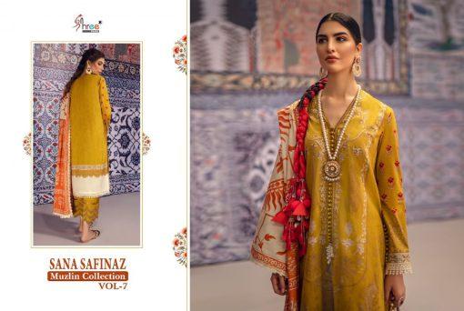 Shree Fabs Sana Safinaz Muzlin Collection Vol 7 Salwar Suit Wholesale Catalog 10 Pcs 14 510x342 - Shree Fabs Sana Safinaz Muzlin Collection Vol 7 Salwar Suit Wholesale Catalog 10 Pcs