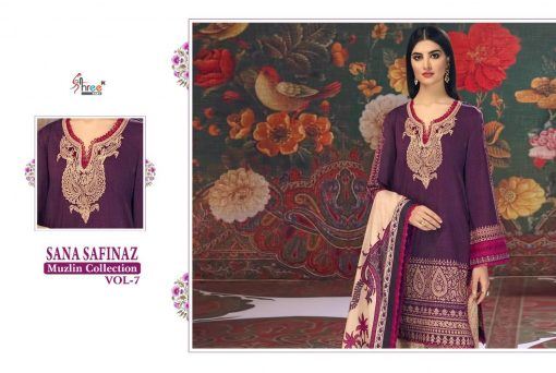 Shree Fabs Sana Safinaz Muzlin Collection Vol 7 Salwar Suit Wholesale Catalog 10 Pcs 15 510x342 - Shree Fabs Sana Safinaz Muzlin Collection Vol 7 Salwar Suit Wholesale Catalog 10 Pcs