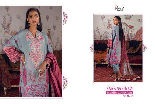 Shree Fabs Sana Safinaz Muzlin Collection Vol 7 Salwar Suit Wholesale Catalog 10 Pcs 17 510x342 - Shree Fabs Sana Safinaz Muzlin Collection Vol 7 Salwar Suit Wholesale Catalog 10 Pcs