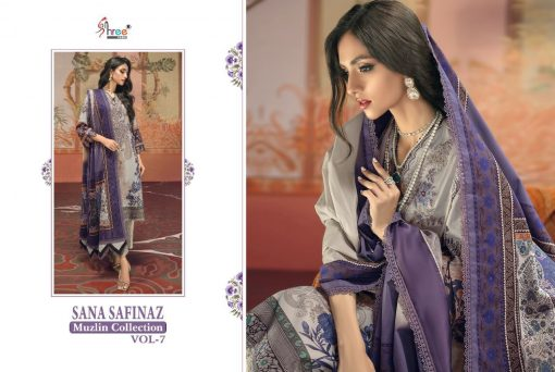 Shree Fabs Sana Safinaz Muzlin Collection Vol 7 Salwar Suit Wholesale Catalog 10 Pcs 19 510x342 - Shree Fabs Sana Safinaz Muzlin Collection Vol 7 Salwar Suit Wholesale Catalog 10 Pcs