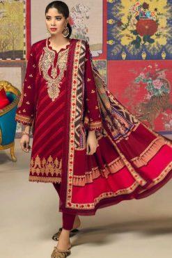 Shree Fabs Sana Safinaz Muzlin Collection Vol 7 Salwar Suit Wholesale Catalog 10 Pcs
