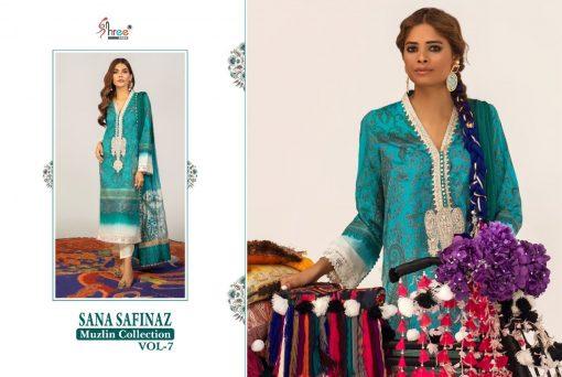 Shree Fabs Sana Safinaz Muzlin Collection Vol 7 Salwar Suit Wholesale Catalog 10 Pcs 6 510x342 - Shree Fabs Sana Safinaz Muzlin Collection Vol 7 Salwar Suit Wholesale Catalog 10 Pcs