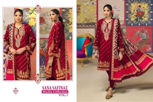 Shree Fabs Sana Safinaz Muzlin Collection Vol 7 Salwar Suit Wholesale Catalog 10 Pcs 8 510x342 - Shree Fabs Sana Safinaz Muzlin Collection Vol 7 Salwar Suit Wholesale Catalog 10 Pcs