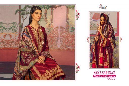 Shree Fabs Sana Safinaz Muzlin Collection Vol 7 Salwar Suit Wholesale Catalog 10 Pcs 9 510x342 - Shree Fabs Sana Safinaz Muzlin Collection Vol 7 Salwar Suit Wholesale Catalog 10 Pcs