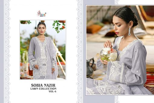 Shree Fabs Sobia Nazir Lawn Collection Vol 4 Salwar Suit Wholesale Catalog 7 Pcs 14 510x340 - Shree Fabs Sobia Nazir Lawn Collection Vol 4 Salwar Suit Wholesale Catalog 7 Pcs
