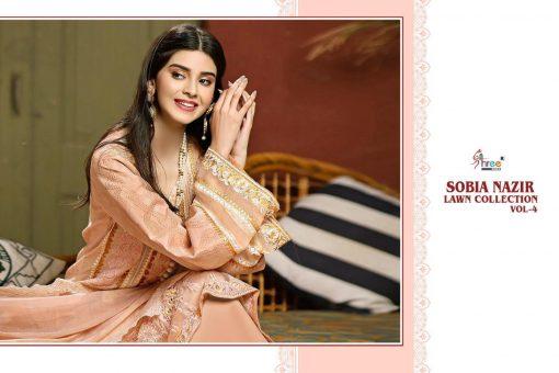 Shree Fabs Sobia Nazir Lawn Collection Vol 4 Salwar Suit Wholesale Catalog 7 Pcs 3 510x340 - Shree Fabs Sobia Nazir Lawn Collection Vol 4 Salwar Suit Wholesale Catalog 7 Pcs