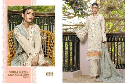 Shree Fabs Sobia Nazir Lawn Collection Vol 4 Salwar Suit Wholesale Catalog 7 Pcs 4 510x340 - Shree Fabs Sobia Nazir Lawn Collection Vol 4 Salwar Suit Wholesale Catalog 7 Pcs