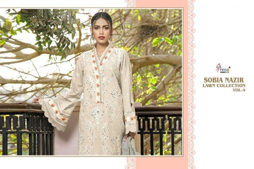 Shree Fabs Sobia Nazir Lawn Collection Vol 4 Salwar Suit Wholesale Catalog 7 Pcs 5 510x340 - Shree Fabs Sobia Nazir Lawn Collection Vol 4 Salwar Suit Wholesale Catalog 7 Pcs